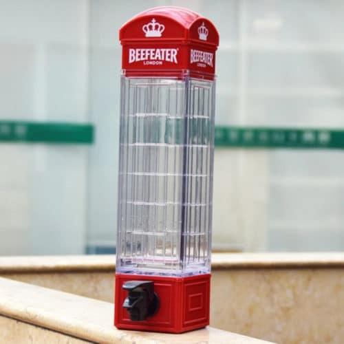 Διανεμητής ποτών, αναψυκτικών και κοκτέιλς σε σχήμα τηλεφωνικός θάλαμος London ΟΕΜ