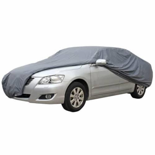 Αδιάβροχη κουκούλα αυτοκινήτου διάστασης 430x160x120cm αδιάβροχη με σύνθεση από βαμβάκι ΟΕΜ