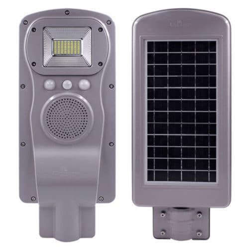 Ηλιακό Φωτιστικό 60W με Ηχείο Bluetooth OEM