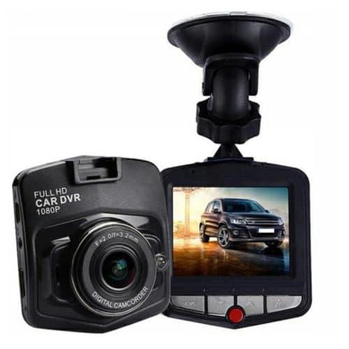 """Καταγραφικό DVR Ψηφιακή Κάμερα Αυτοκίνητου HD με 2.4"""" οθόνη LCD και ενσωματωμένα LED για Νυχτερινή λήψη"""