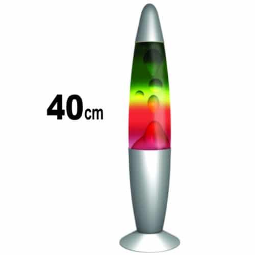 Πολύχρωμο φωτιστικό λάβας - Rainbow Lava lamp 40cm OEM