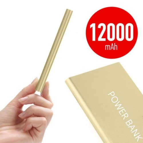 Power Bank 12.000mAh με φακό OEM