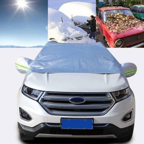 Προστατευτικό κάλυμμα παρμπρίζ αυτοκινήτου με ανακλαστήρες νυχτός