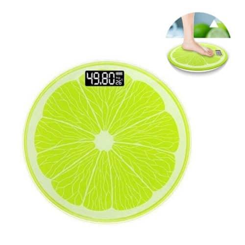 Ψηφιακή Ζυγαριά Μπάνιου σε Σχέδιο Lime