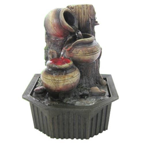 Συντριβάνι Feng Shui με Τρεχούμενο Νερό από Ανάγλυφο υλικό Πολυρεσίνης με αντλία, σε απλό στυλ Fountain COMO