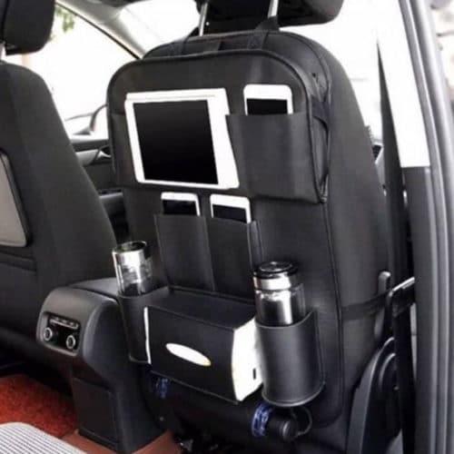 Θήκη αποθήκευσης & οργάνωσης για τα καθίσματα του αυτοκινήτου - Μαύρο OEM