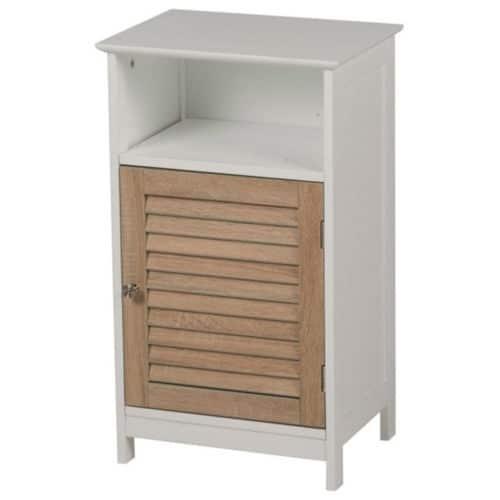 Ξύλινο Έπιπλο Συρταριέρα Ντουλάπι Γενικής Χρήσης 40x30x68.5cm με 1 Ντουλάπι, 99497 Homestyle