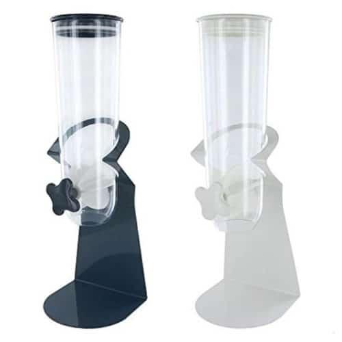 Διανεμητής Δημητριακών με μεταλλική βάση σε δύο χρώματα, 15.5x15.4x46.5 cm, Cereal Dispenser