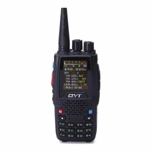 Πομποδέκτης με Ραδιόφωνο και Έγχρωμη Οθόνη 4band 5W QYT KT-8R
