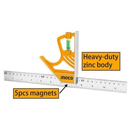 Γωνία Μαγνητική με Αλφάδι, INGCO HSR 530255