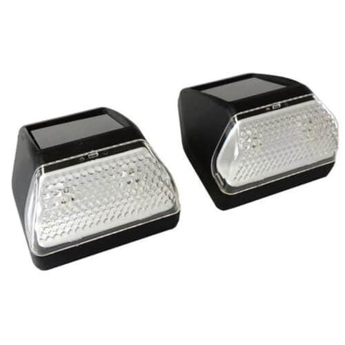 Σετ 2 τεμαχίων Solar Φωτιστικά Τοίχου με Ηλιακό Φως και λευκό LED φωτισμό Grundig 00089408