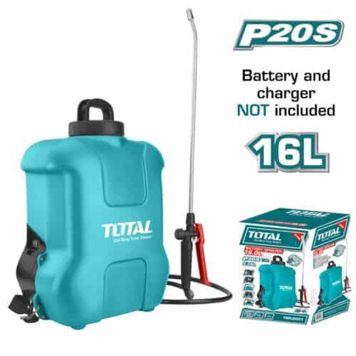 Ψεκαστήρας πλάτης μπαταρίας λιθίου 20V 16 Lit TOTAL TSPLI2001