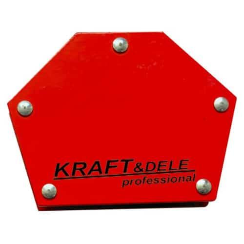 Εξάγωνη Μαγνητική Γωνία Συγκράτησης Μετάλλων Kraft&Dele KD-1896