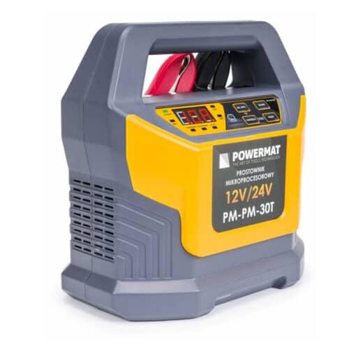 Φορτιστής Μπαταρίας Αυτοκινήτου με Μικροεπεξεργαστή 12/24 V POWERMAT PM-PM-30T