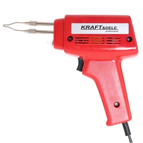 Ηλεκτρικό Κολλητήρι Πιστόλι 100 W Kraft&Dele KD-1503