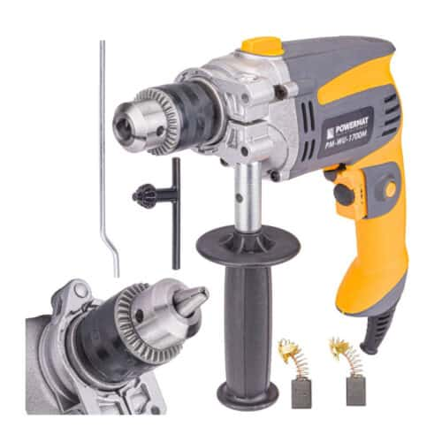 Ηλεκτρικό Κρουστικό Δράπανο 1700 W POWERMAT PM-WU-1700M
