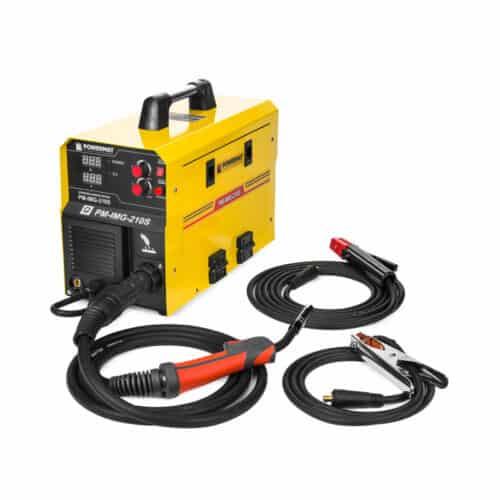 Ηλεκτροκόλληση Inverter 210A 230V MIG / MAG / MMA IGBT POWERMAT PM-IMG-210S