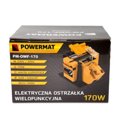 Πολυλειτουργικό Ηλεκτρικό Ακονιστήρι 3 σε 1 170 W POWERMAT PM-OWF-170