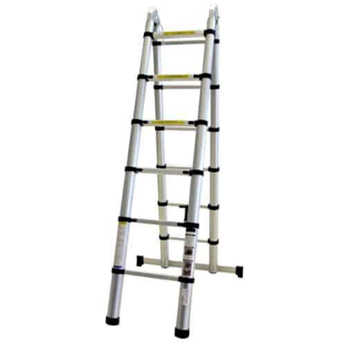 Τηλεσκοπική Σκάλα Αλουμινίου 12 Σκαλιών BORMANN Pro BHL5710 034858