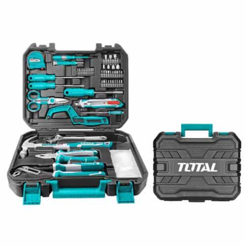 Εργαλειοθήκη βαλίτσα με 130 τμχ εργαλεία Total THKTHP21306