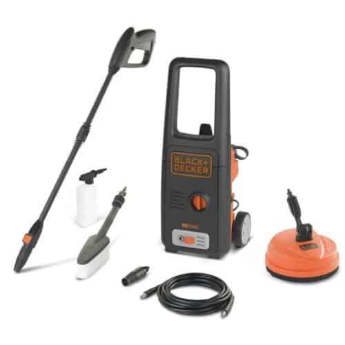 Πλυστικό Μηχάνημα υψηλής πίεσης 110 bar 1400W με 8 αξεσουάρ, BXPW1400PE Black & Decker