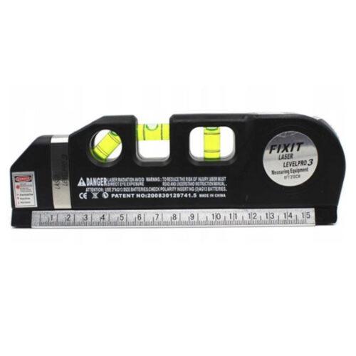 Μέτρο - Αλφάδι με Γραμμή Laser 250cm Kraft&Dele KD-10437