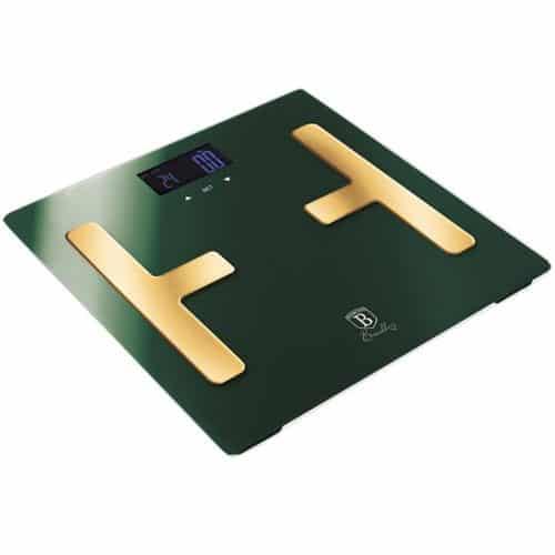 Berlinger Haus Ψηφιακή Ζυγαριά Μπάνιου από Γυαλί έως 150kg με LCD οθόνη, Emerald Collection BH-9108, Berlinger Haus