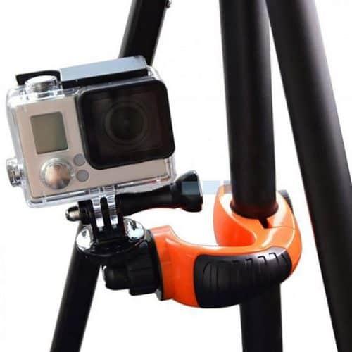 Βάση ποδηλάτου για GoPro κάμερες με περιστρεφόμενη κεφαλή μπίλιας 360 μοιρών