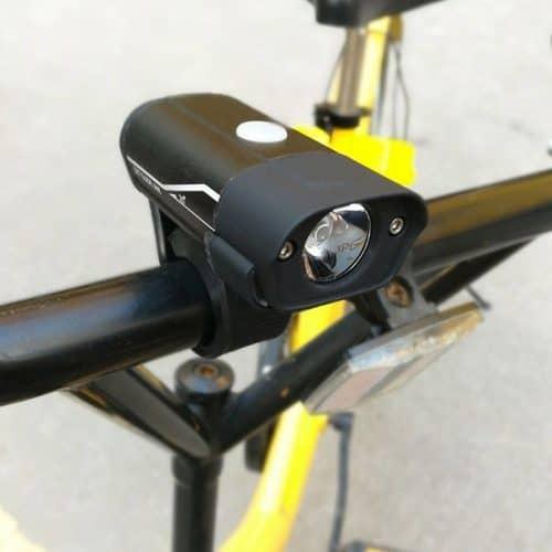 Επαναφορτιζόμενος φακός ποδηλάτου Cree L2 για το τιμόνι- 300 lm