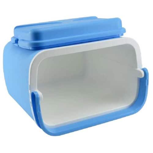 Φορητό Ψυγειάκι Cooler χωρητικότητας 24L με λαβή σε γαλάζιο χρώμα, 38x39x25cm Aria Trade