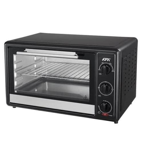 Φουρνάκι Ψησταριά 1600W χωρητικότητας 28Lt με 4 Θερμαντικά Στοιχεία σε Μαύρο χρώμα, Top Cook, 613-400331