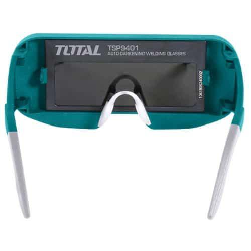 Γυαλιά Συγκολλήσεως Αυτόματης Σκίασης με οπτικό πεδίο 95x31mm TOTAL TSP9401