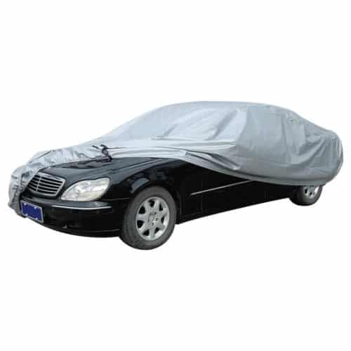 Κουκούλα Αυτοκινήτου 485X178X120cm Αδιάβροχη PEVA Με Εσωτερική Επένδυση Bormann BWC5300