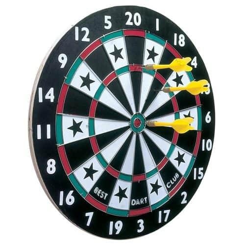 Παιχνίδι Στόχου με Βελάκια, με 6 βελάκια σε 2 χρώματα, με διάμετρο 38 εκατοστά, Lifetime Games
