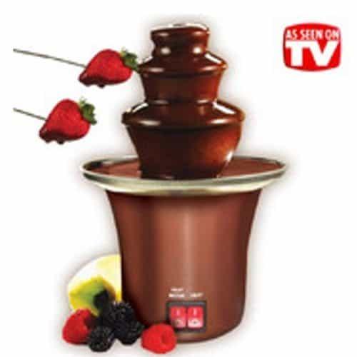 Συντριβάνι σοκολάτας για φοντί